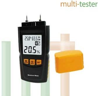 Alat Pengukur Kayu Moisture Meter AMF037