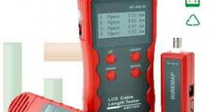Alat Ukur Panjang Kabel Tester NF868
