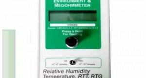 Alat Digital Resistance Temperature Humidity Meter RT-1000