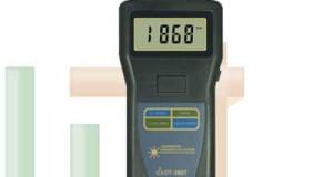 Alat Ukur Kecepatan Putaran Foto Tachometer DT-2857